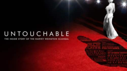Title art for the Untouchable documentary on Hulu