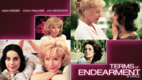Shirley McLaine and Debra Winger in Terms of Endearment.