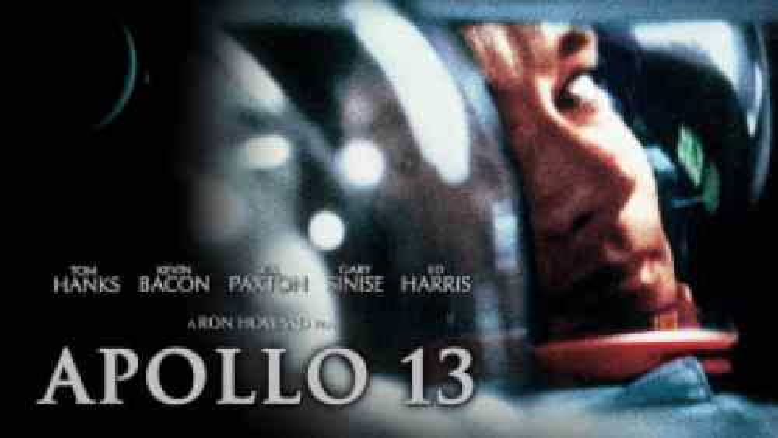 Tom Hanks starring as astronaut Jim Lovell in the film Apollo 13.