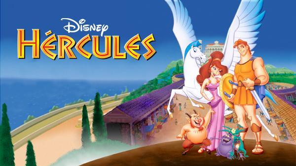 Title art for Disney's Hercules.