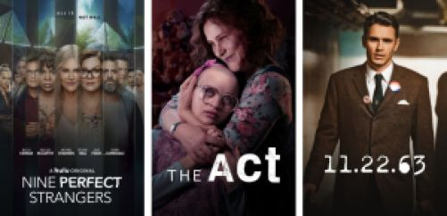 Title art for the best Hulu limited series