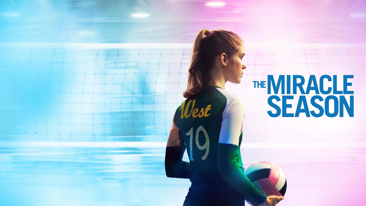 Title art for The Miracle Season on Hulu.