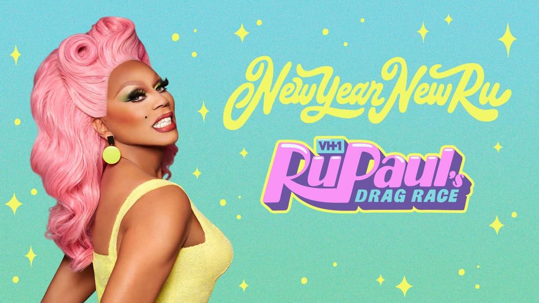Title art for RuPaul's Drag Race.