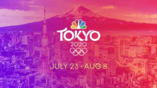 Title art for The Tokyo 2020 Olympic Games.