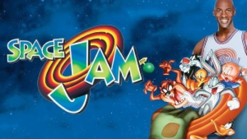 [alt text: Title art for Space Jam, featuring Michael Jordan and the Looney Tunes.