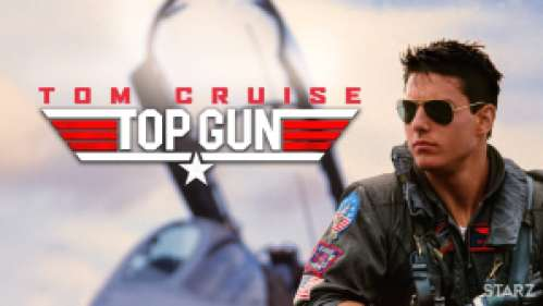 Tom Cruise in a Navy fighter pilot uniform, starring in the movie Top Gun