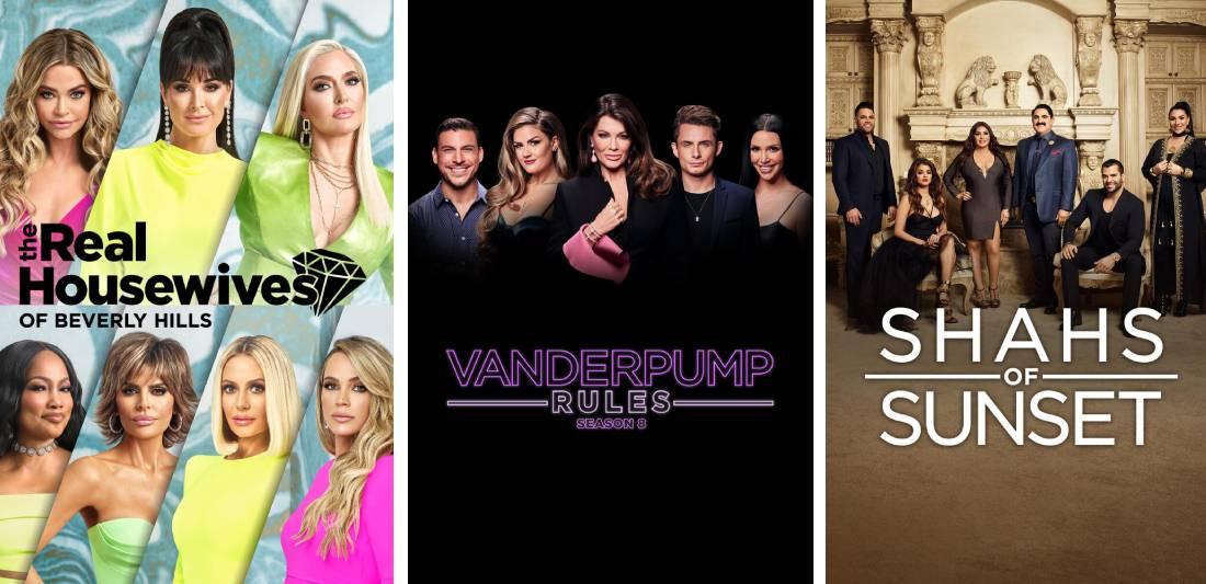 Bravo shows on Hulu