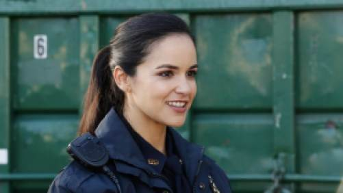 Amy Santiago (Melissa Fumero) in the NBC sitcom Brooklyn Nine-Nine.