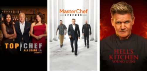 Cooking Competition Shows on Hulu