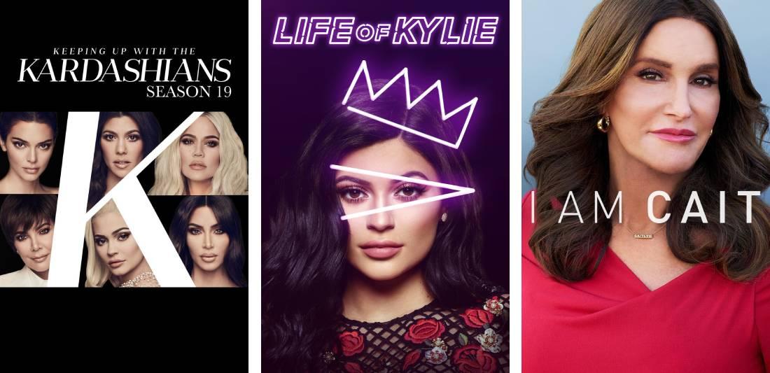 Kardashian shows on Hulu.