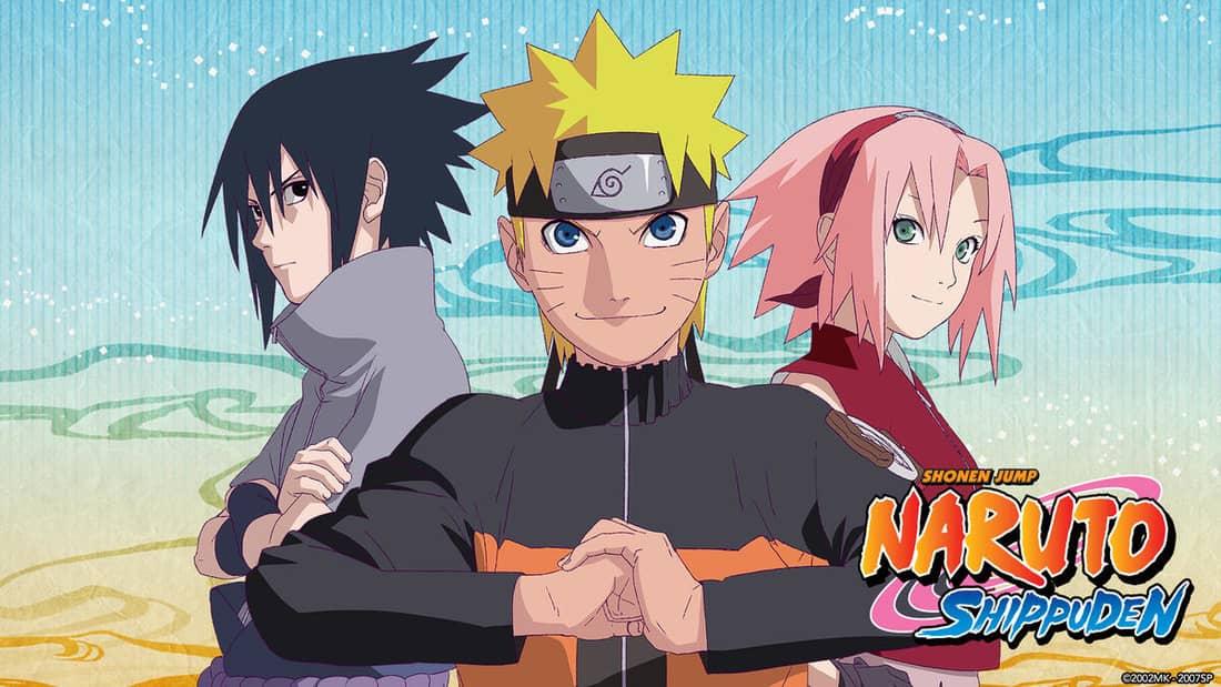 Title art for Naruto Shippuden