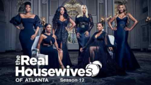 Title art for The Real Housewives of Atlanta on Bravo.