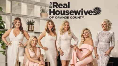 Title art for The Real Housewives of Orange County on Bravo.