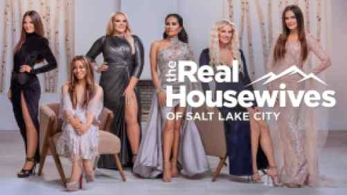 Title art for The Real Housewives of Salt Lake City on Bravo.