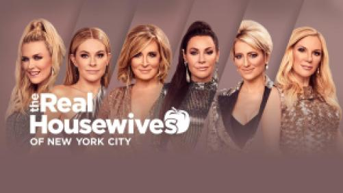 Title art for The Real Housewives of New York City on Bravo.