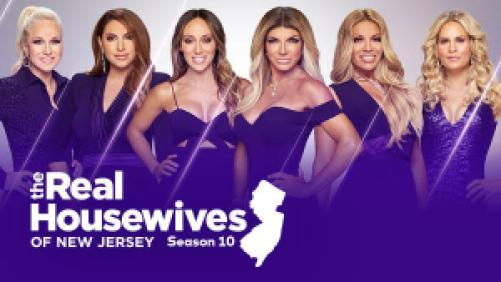 Title art for The Real Housewives of New Jersey on Bravo.