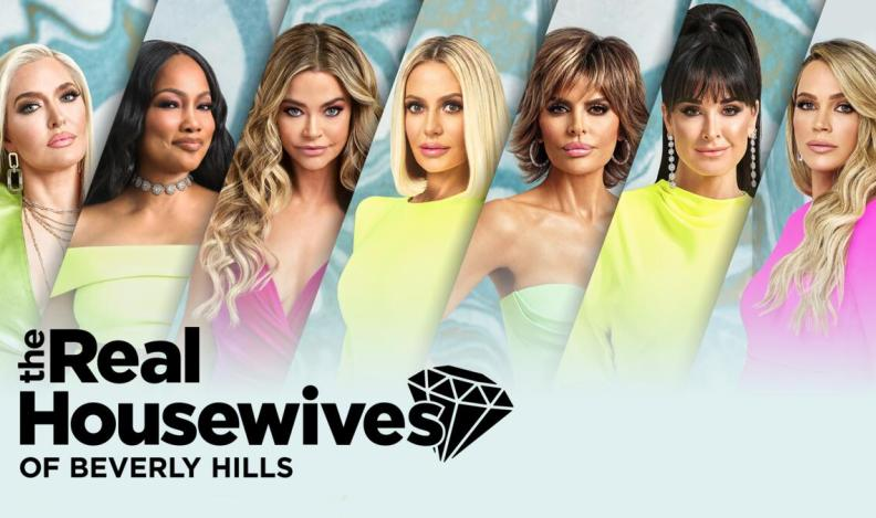 Title art for The Real Housewives of Beverly Hills on Bravo.