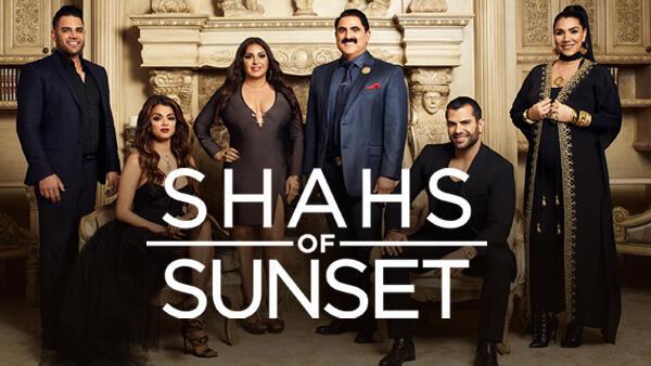Title art for Shahs of Sunset on Bravo.