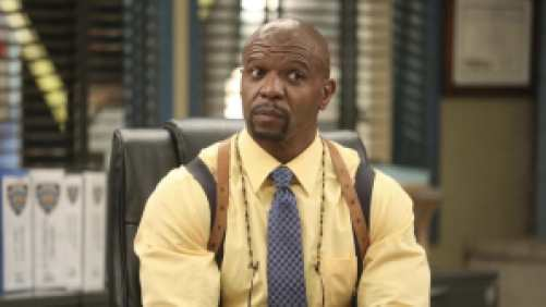 Lieutenant Terry Jeffords (Terry Crews) in the NBC sitcom Brooklyn Nine-Nine.