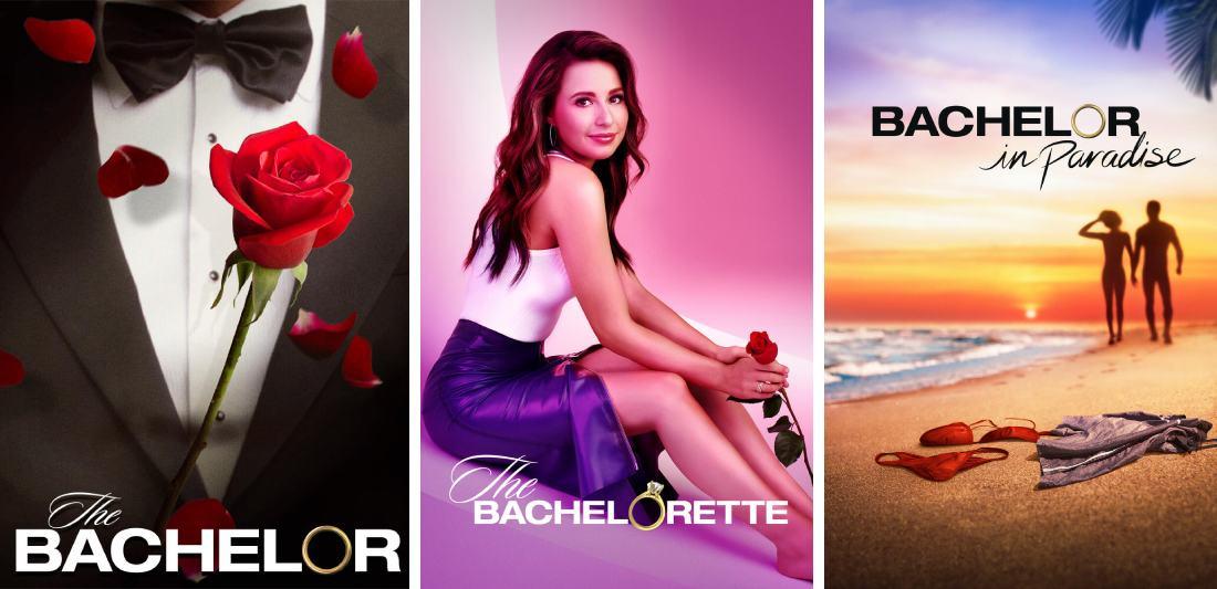 The Bachelor shows on Hulu