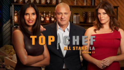 Title art for Top Chef on Bravo.