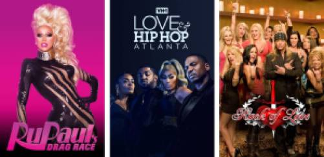 VH1 reality shows on Hulu