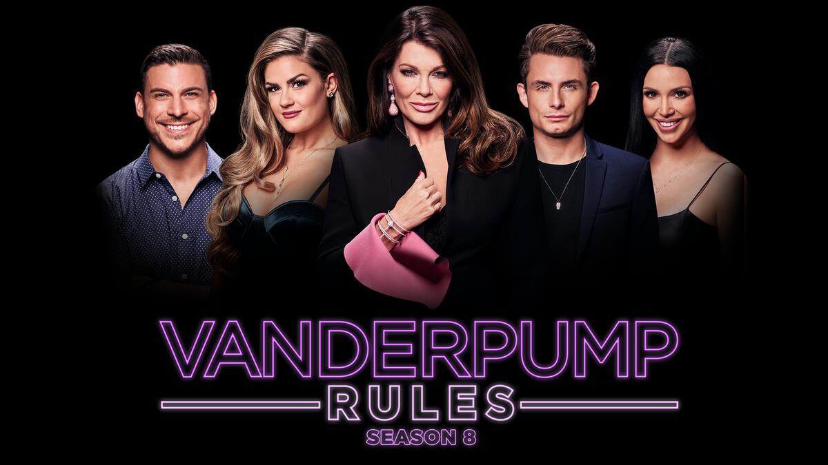 Title art for Vanderpump Rules on Bravo.