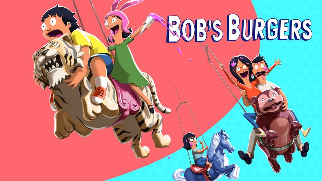 title art for the FOX comedy series Bob's Burgers.