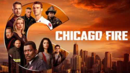 title art for the NBC drama Chicago Fire.