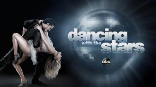 title art for the ABC dance competition show Dancing with the Stars.