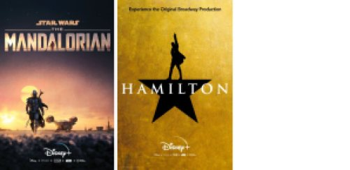 Title art for Disney Emmy nominees.