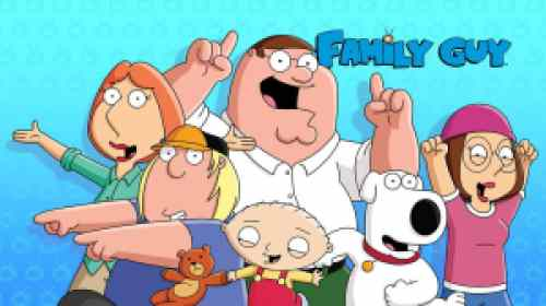 title art for the FOX comedy series Family Guy