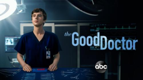 title art for the ABC drama The Good Doctor.