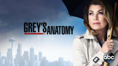 title art for the ABC drama Grey's Anatomy.