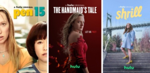 Title art for Hulu Original Emmy Nominees