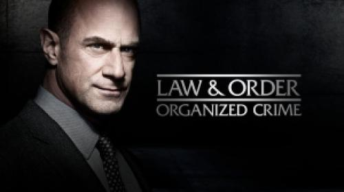 title art for the NBC spinoff series Law & Order: Organized Crime.