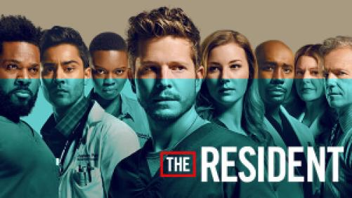 title art for the FOX series The Resident.