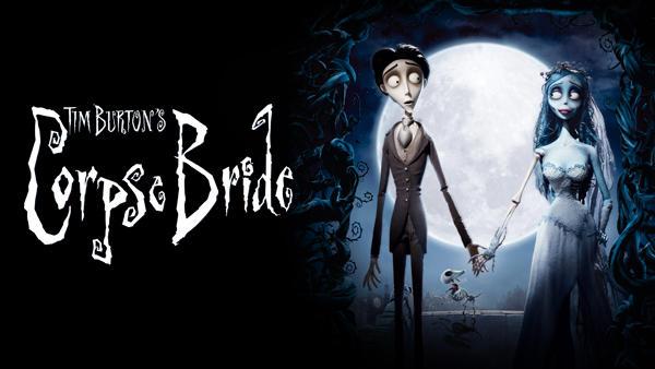 Title art for Time Burton's Corpse Bride.