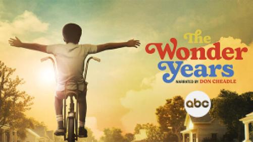 title art for the new ABC series The Wonder Years