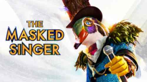 title art for the FOX series The Masked Singer.