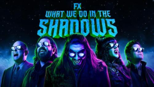 Title art for What We Do in The Shadows on FX.
