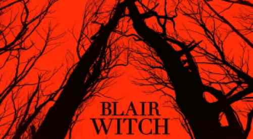 title art for the 2016 movie, Blair Witch.