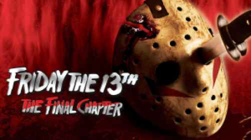 Title art for Friday the 13th: The Final Chapter.