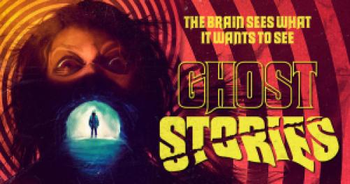 title art for the horror movie, Ghost Stories.