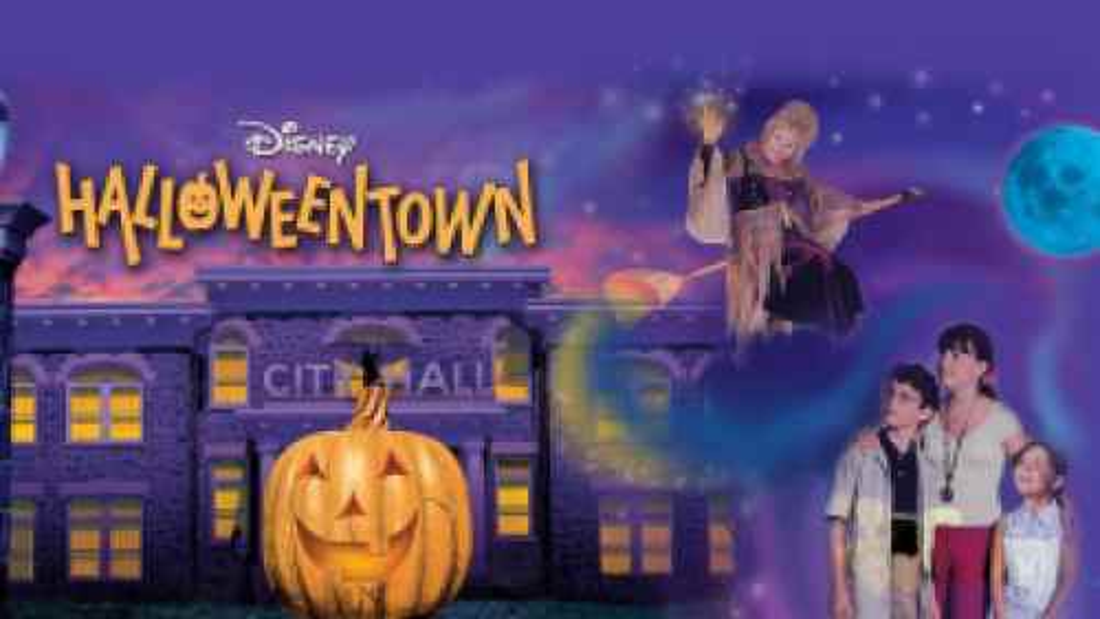Title art for Disney's Halloweentown.