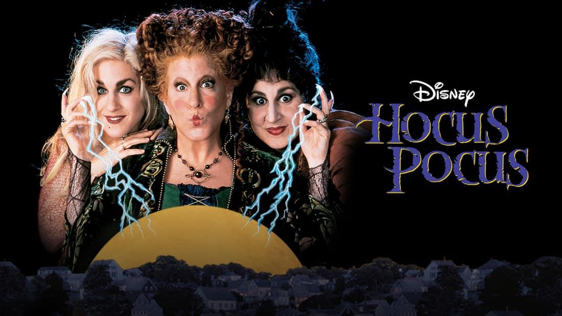 Title art for Disney's Hocus Pocus