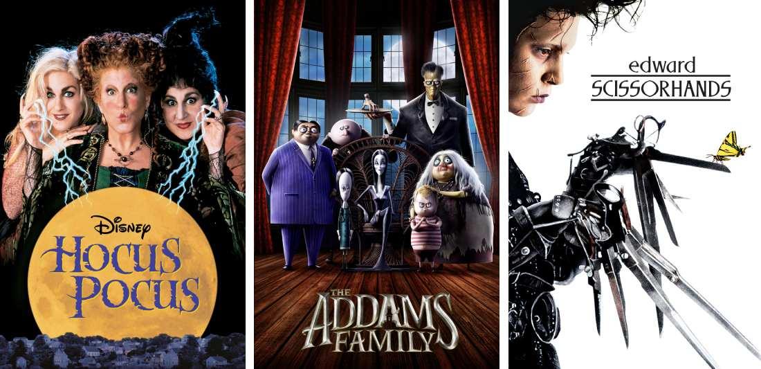 title art for Halloween movies on Hulu