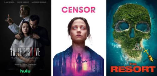 title art for new horror movies on Hulu